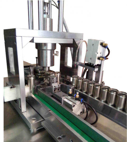 Automatic Grooving Machine For Batch Processing Of Cylindrical Battery