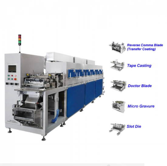Versatile Roll To Roll Pilot Coating Machine