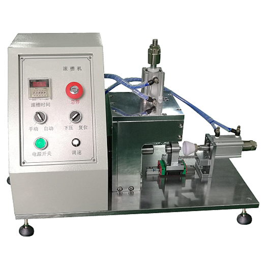Supercapacitor Roll Grooving Groover Machine For Ultracapacitor