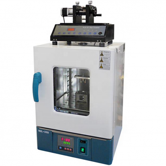 Dipping Speed Programmable(1-200mm/Min) Dip Coater with Drying Oven Up to 100 C