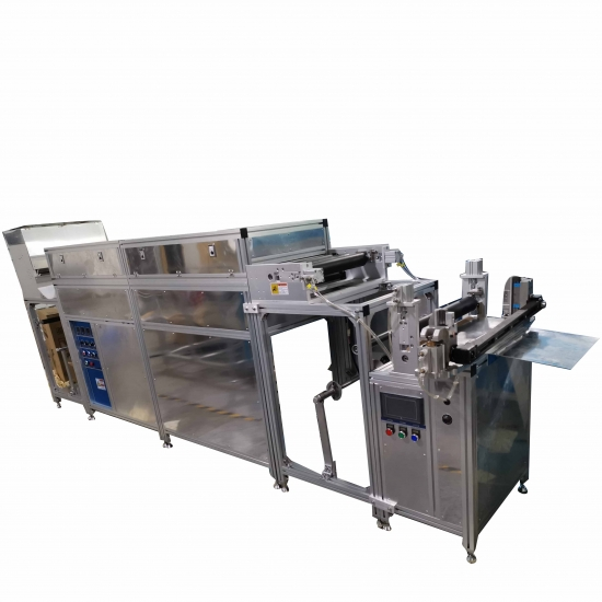 Lab Wax Coating Coater For Bee Wrap Wrapping Paper