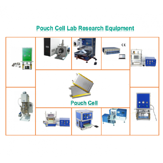 Lithium ion Battery Pouch Cell Lab Line for Lab Research