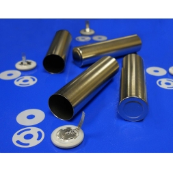 Cylindrical Battery Cases