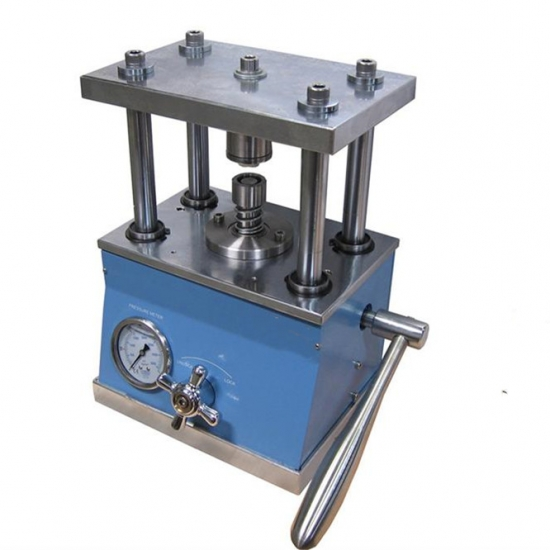 Coin Cell Manual Hydraulic Removal Machine Hydraulic Disassembling Machine for Button Cell Disassembly